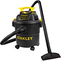 $54 » Stanley Shop Vac SL18115P, 5 Gallon Peak 4 Horsepower Wet Dry Vacuums, Blower 3 In 1…