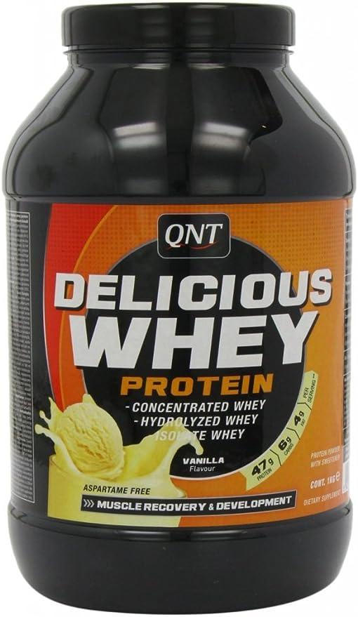 QNT Delicious Whey Protein Crecimiento y Recuperación Batido ...