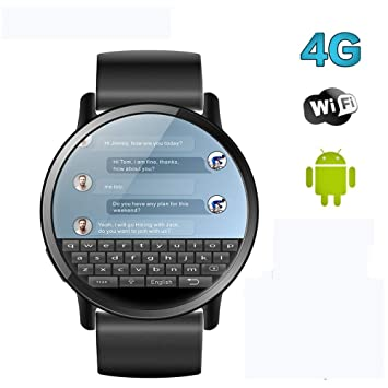 VERYNNA Reloj Inteligente Smart Watch Teléfono 4G LTE 1GB + ...