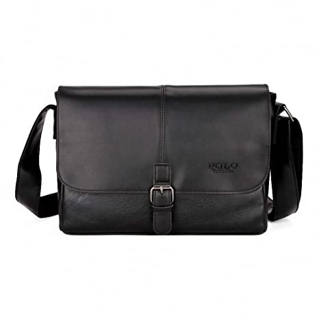 0906f05c92 Image Unavailable. Image not available for. Color  Men s Shoulder Bag  Magnetic Open Casual Trendy ...