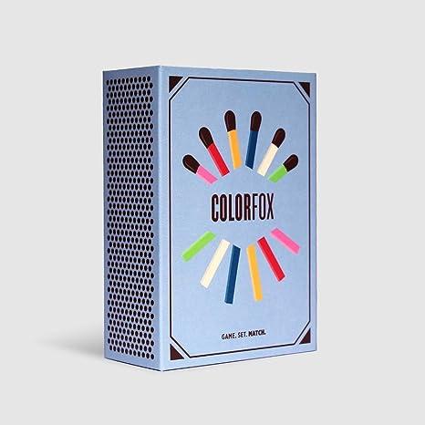 Helvetiq Colorfox Juego de bazas - Juegos de Cartas (6 año(s), Juego de bazas, Niños y Adultos, Niño/niña, 99 año(s), 10 min)