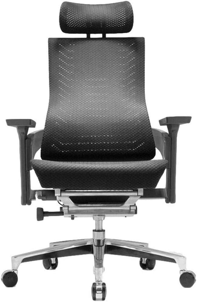 HDZWW Asiento ergonómico Silla de la computadora for sillas de Inicio de Malla Silla reclinable Silla de la Protuberancia Silla de Oficina