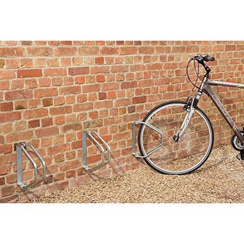 Adjustable Angle Wall Mounted Bike Racks by Parrs