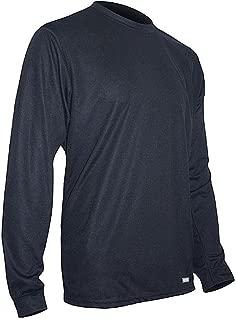 product image for Polarmax Men's Tech Silk Crew - Black - XX-Large