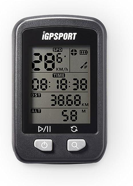 Cronómetro inalámbrico para bicicleta IGPSPORT IGS20E con GPS ...