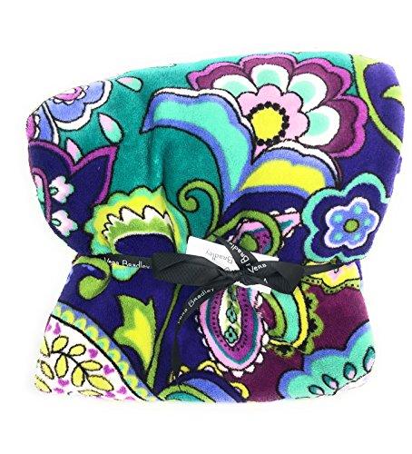 Blanket Heather (Vera Bradley Throw Blanket Heather)