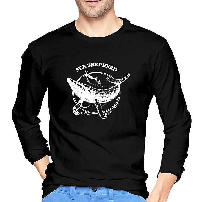 haute couture mode gamme complète d'articles Amazon.com: Sea Shepherd Whale Shirt Men's Long Sleeve ...