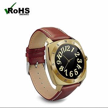Bluetooth Smart Watch Reloj Inteligente Hombre Mujer con Reloj Fitness Podómetro,Monitor de Sueño,