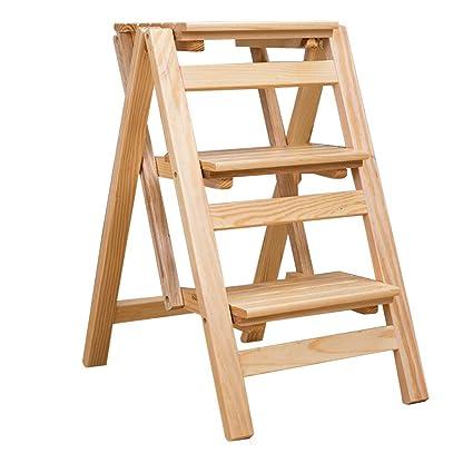 Cool Amazon Com Xsj Stepstools 3 Step Ladder Stool Folding Machost Co Dining Chair Design Ideas Machostcouk