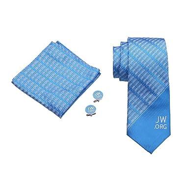 Amazon.com: Gudeke jw. Org Necktie pañuelo Gemelos: Clothing