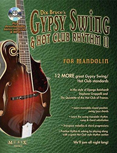 Gypsy Swing & Hot Club Rhythm II For Mandolin (Rhythm Mandolin)