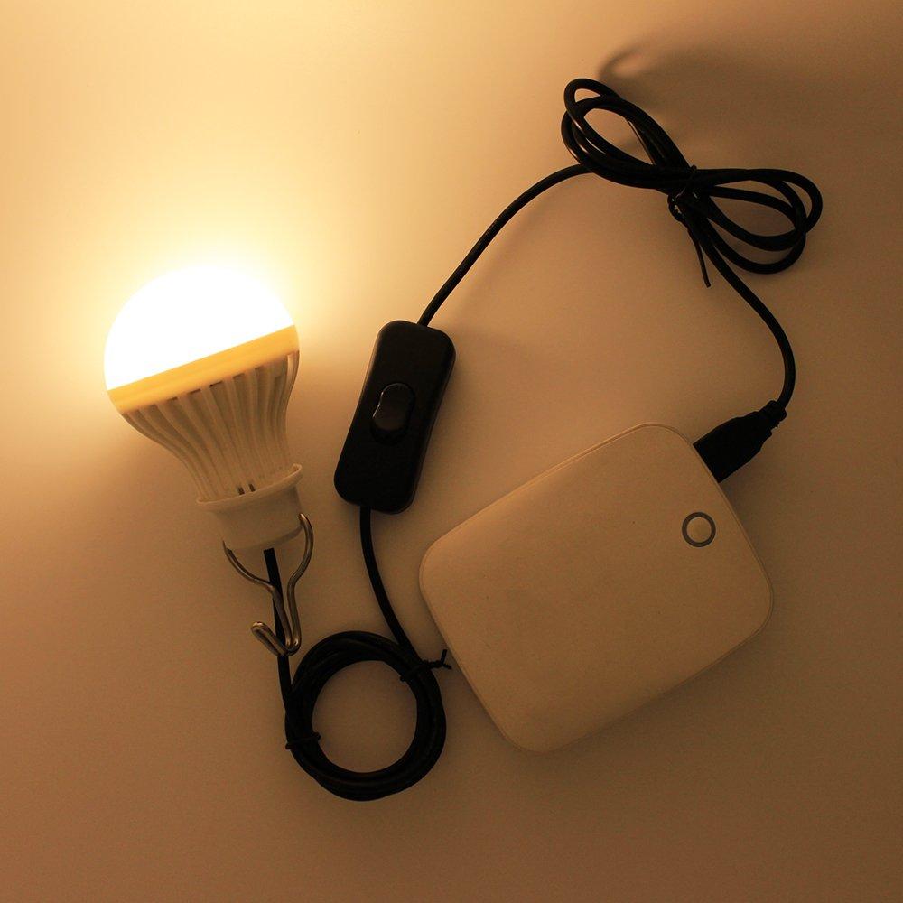 5W USB LED Lampe Birne,Kabel ist im Lieferumfang Schalter,für ...