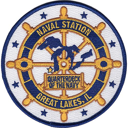 Naval Station Great Lakes Illinois Patch (Great Lakes Naval Station North Chicago Il)