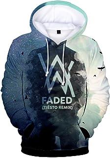Bettydom Mens Womens Teens Hoodies Alan Walker 3D Printed Sweatshirt