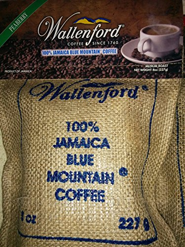 8oz Roasted Peaberry Bean 100% Jamaica Blue Mountain