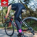 Santic-Pantaloni-Ciclismo-Donna-Imbottiti-Pantaloni-Ciclista-Donna-Pantaloni-Bicicletta-Imbottiti-per-Donna