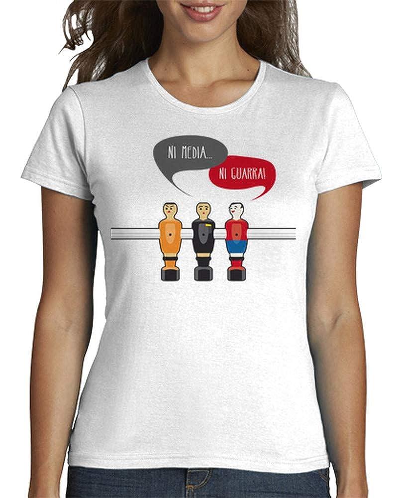 latostadora - Camiseta Ni Media Ni Guarra para Mujer ...