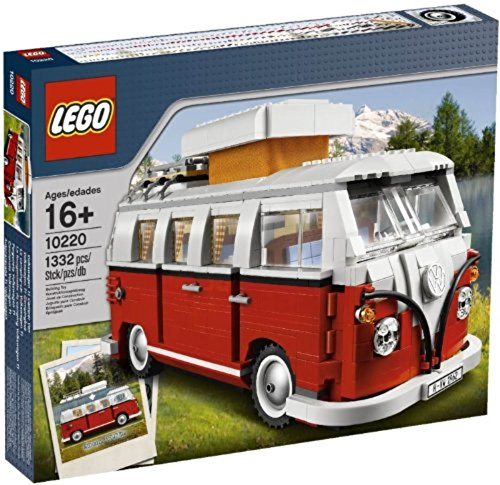 LEGO Creator Volkswagen T1 Camper Van 10220 (Discontinued by manufacturer) (Engine Rear Bus)