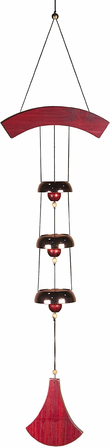 Woodstock Chimes DCCB The Original Guaranteed Musically Tuned Chime Encore Bells, Copper