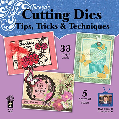 DVD Cutting Dies by Hot Off The Press | Card Making Tips & Techniques: Something for Everyone! '' 33 Unique Ideas by Hot Off The Pres Inc