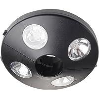 Gardman L22001, sombrilla lámpara – Negro, Plástico, Black, 1 x 20 x 6 cm