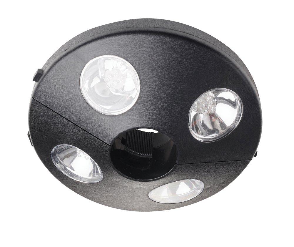 Cole& Bright L22001, Sonnenschirmleuchte - schwarz, Plastik, Black, 1 x 20 x 6 cm Gardman