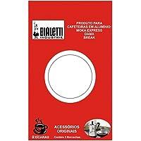 Cartela com 3 Borrachas 9 Xicaras Bialetti
