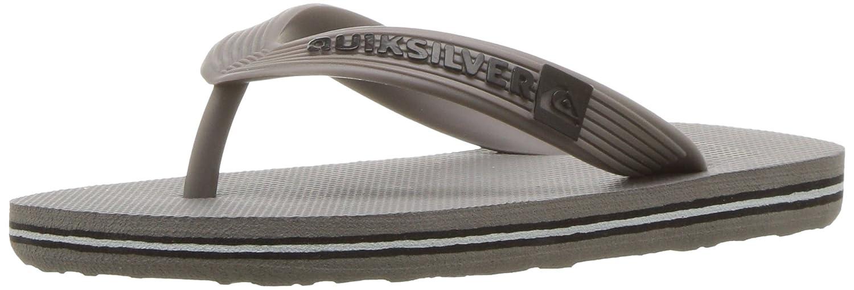 Quiksilver Molokai Youth Flip-Flop (Little Kid/Big Kid) Quiksilver Kids Footwear MOLOKAI YOUTH SANDALS - K