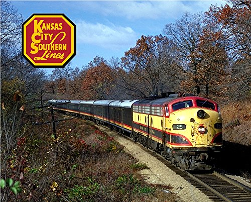 "Kansas City Southern F Unit 8"" x 10"" Metal Sign for sale  Delivered anywhere in USA"