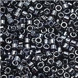 Miyuki Delica Seed Beads 11/0 Gun Metal Gray DB001 7.2 Gram Tube