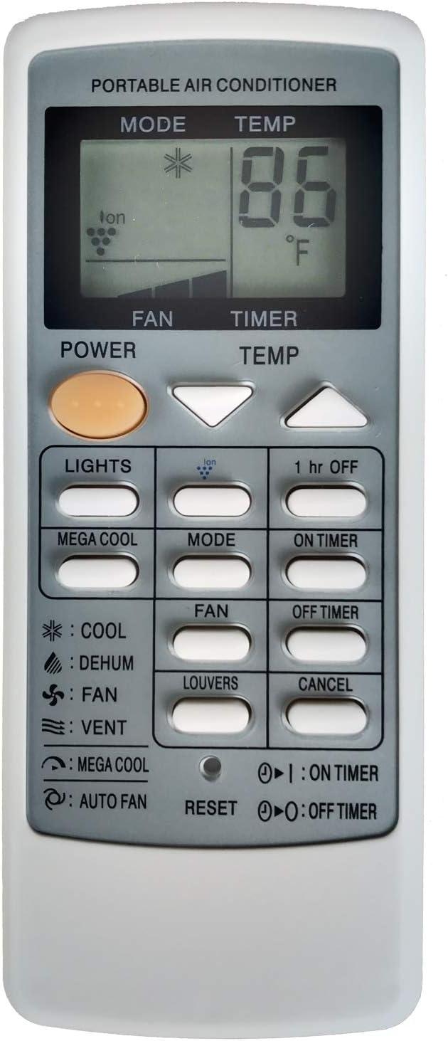 Télécommande pour SHARP CRMC-A 750 jbez CV-P09LV CV-P10LC AC Climatiseur