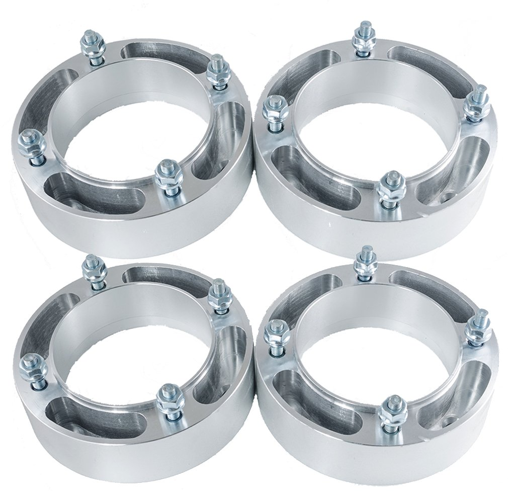 Max Motosports 4pcs 2'' 4/156 4x156 ATV Wheel Spacers for Polaris Sportsman XP Ranger RZR 570 600 700 Kawasaki KSF 250 WP216
