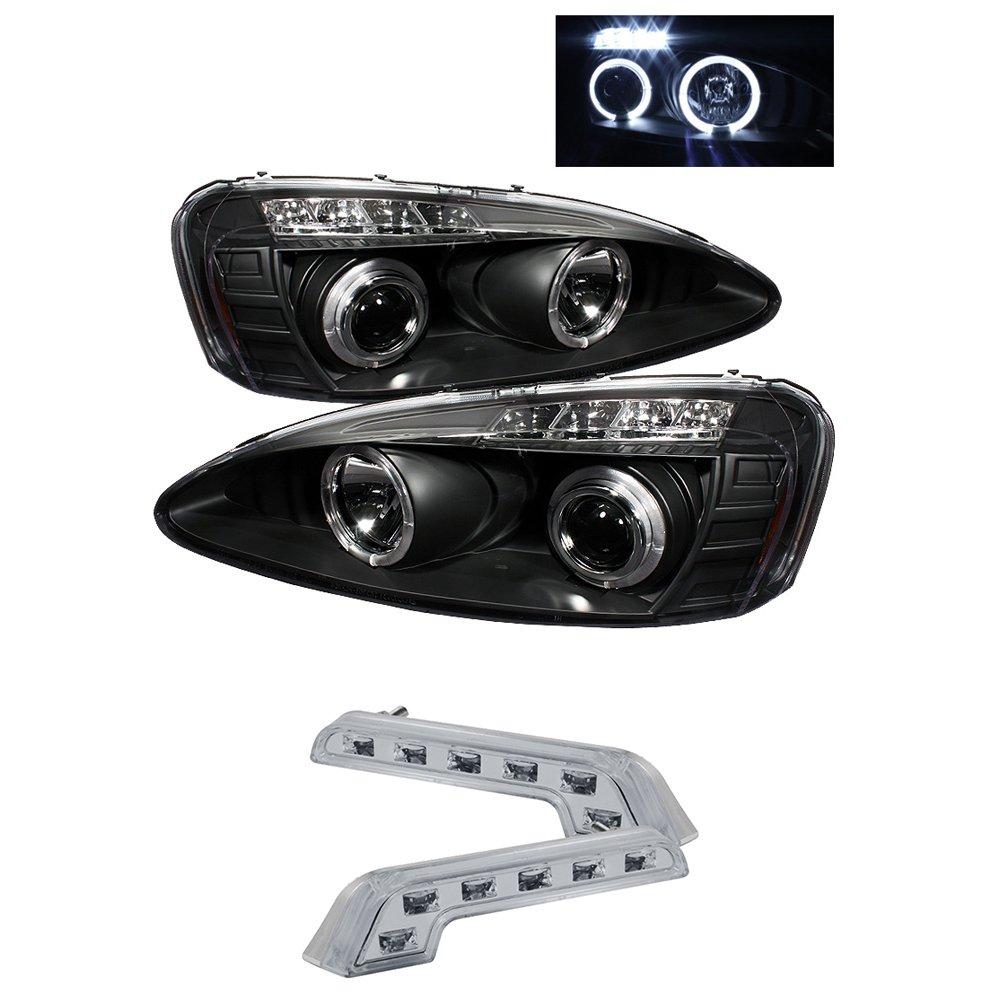 2005 Pontiac Grand Prix Halo Headlights Projector Head 2006 Headlight Wiring Diagram Lights 8 Led Fog Lamps Automotive