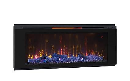 amazon com classic flame 48hf320fgt helen 48 black wall mounted rh amazon com 48 inch electric fireplace tv stand 48 inch electric fireplace tv stand