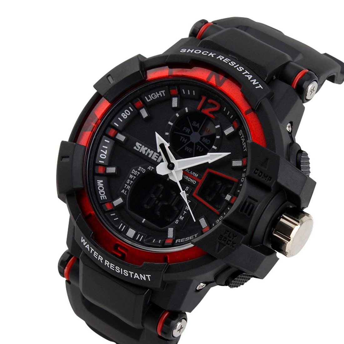 Amazon.com: SKM Multi-Function Outdoor Sport Watch Running ...