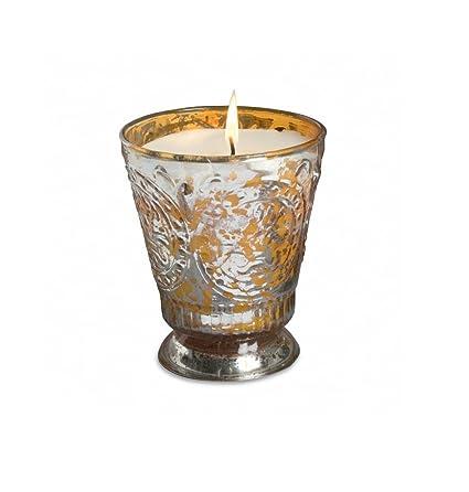 Amazon Com Himalayan Candles Fleur De Lys Soy Candle Tumbler
