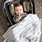 Muslin-Swaddle-Blankets-Set-of-3-Super-Soft-100-Cotton-Receiving-Blankets-By-Bouncing-Baby-Bundle-Extra-Large-Boys-Blue-Classic-Multi-use-for-Nursing-Cover-Stroller-Cover-or-Burp-Cloth