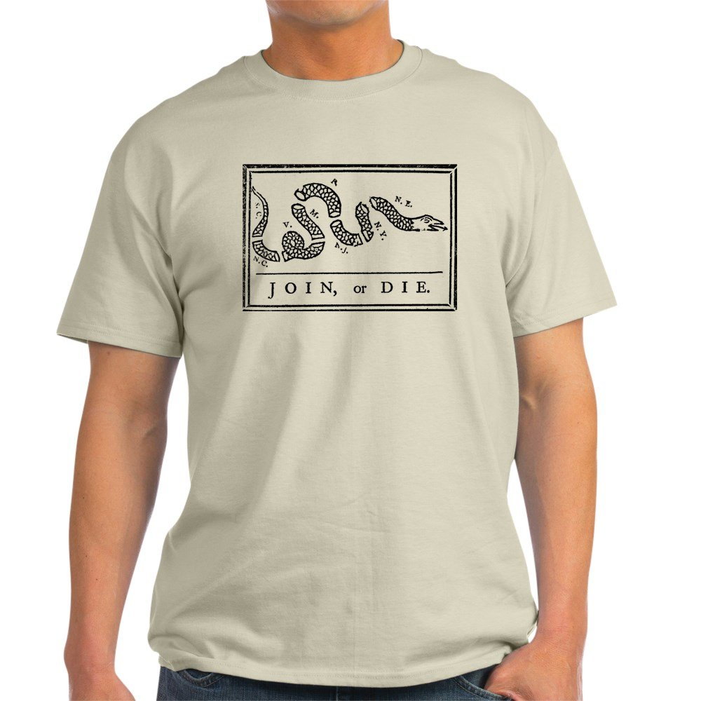 Join Or Die 100 White Shirts
