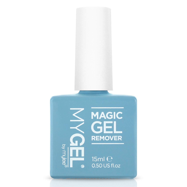 Magic Gel Entferner Von Mylee Gel Und Acryl Nagellackentferner Entfernt Eingeweichten Gellack Einfach Schnell 15ml Amazon De Beauty