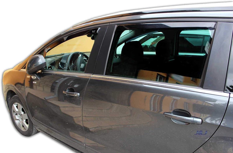 Amazon.es: J&J AUTOMOTIVE J&J - Deflectores de Viento para Peugeot ...