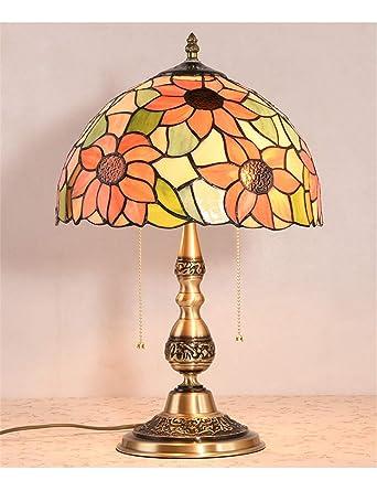 Echo Times Lámpara de mesa Tiffany de 12 pulgadas Lámpara de ...