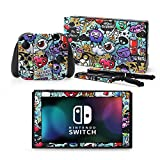 Cheap RCstyle 3M Skin Decal Sticker Wrap for Nintendo Switch Console Joy-Decals Stickers Cover Case