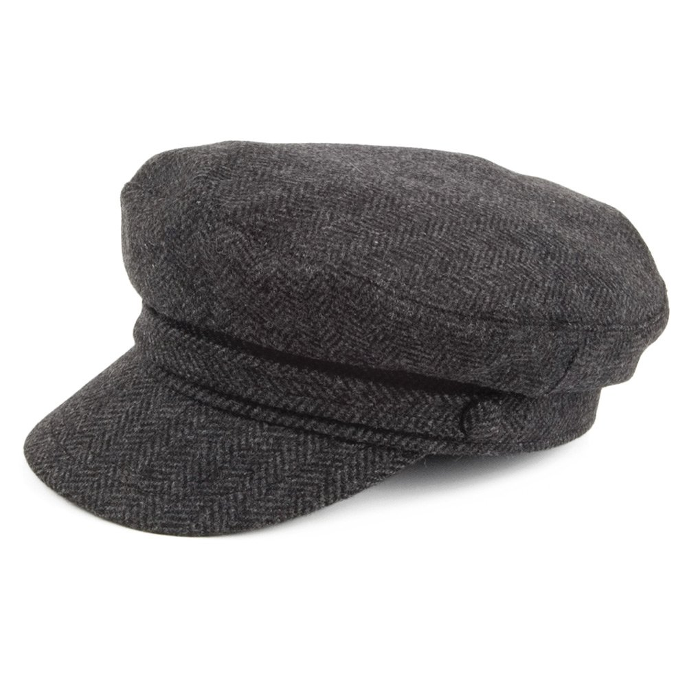 Charcoal Jaxon /& James Classic Wool Flat Cap