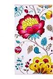 Pip Studio 260256202001 Floral Fantasy Serviette Coton Blanc 55 x 100 cm