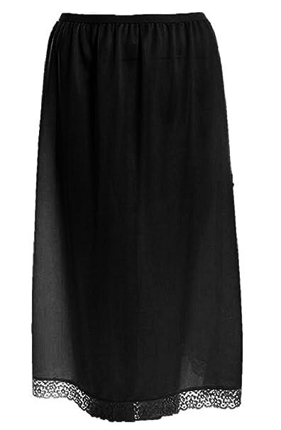 Ladies Cling Resistant Under Garmen Underwear Half Slip Waist Slip 24 inches Long