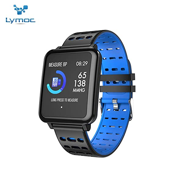 Amazon.com: LYMOC Smart Watch 1.3 inches Touch Screen Water ...