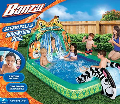 BANZAI Safari Falls Adventure Pool