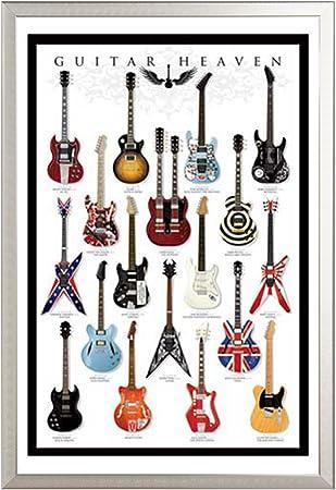 Guitarra Póster Guitar Heaven (Incluye Artículo adicional): Amazon.es: Juguetes y juegos