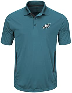 Philadelphia Eagles NFL Mens Cool Base Performance Polo Shirt Green Big &  Tall Sizes