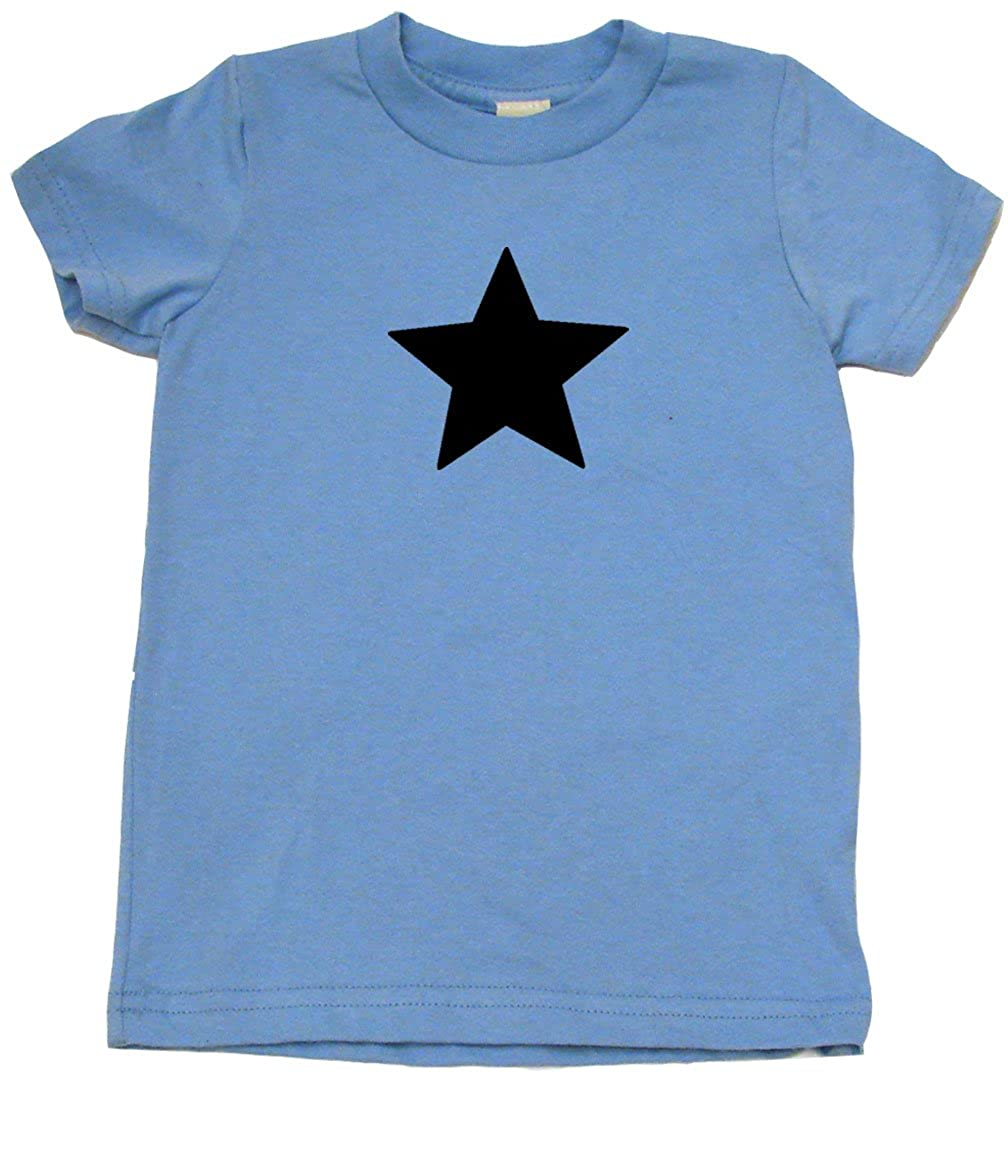 Baby Wit Five Point Star Hipster Toddler Clothes Cool Boy Or Girl T-Shirts